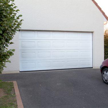 Porte garage automatique Hormann avec volets roulants